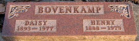 BOVENKAMP, DAISY - Jasper County, Iowa   DAISY BOVENKAMP