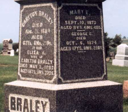 BRALEY, MARY E. - Jasper County, Iowa | MARY E. BRALEY