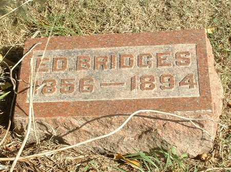 BRIDGES, EDMOND - Jasper County, Iowa | EDMOND BRIDGES
