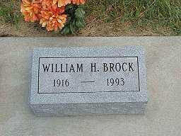 BROCK, WILLIAM H. - Jasper County, Iowa | WILLIAM H. BROCK