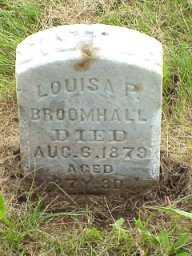 HENNEY BROOMHALL, LOUISA PRISCILLA - Jasper County, Iowa | LOUISA PRISCILLA HENNEY BROOMHALL