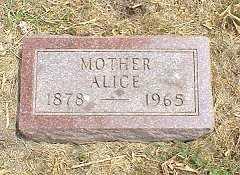 HUFF BRUCE, ALICE - Jasper County, Iowa | ALICE HUFF BRUCE