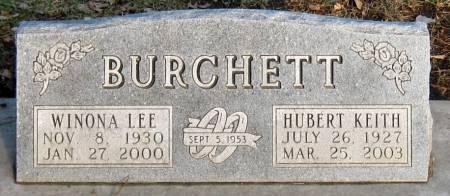 HOYT BURCHETT, WINONA LEE - Jasper County, Iowa | WINONA LEE HOYT BURCHETT