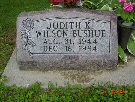 WILSON BUSHUE, JUDITH KAY - Jasper County, Iowa | JUDITH KAY WILSON BUSHUE
