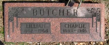 TAYLOR BUTCHER, LILLIAN - Jasper County, Iowa   LILLIAN TAYLOR BUTCHER