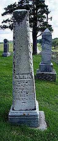 BUTIN, ANNA - Jasper County, Iowa | ANNA BUTIN