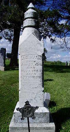 BUTIN, ASA COLEMAN - Jasper County, Iowa | ASA COLEMAN BUTIN