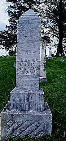 BUTIN, ADRIANUS BIK - Jasper County, Iowa   ADRIANUS BIK BUTIN