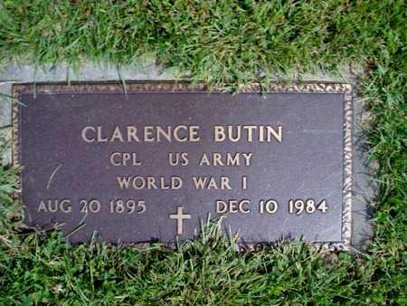 BUTIN, CLARENCE (CPL) - Jasper County, Iowa | CLARENCE (CPL) BUTIN