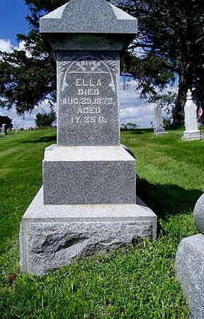 BUTIN, ELLA - Jasper County, Iowa | ELLA BUTIN