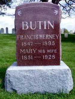 KNOUSE BUTIN, MARY - Jasper County, Iowa   MARY KNOUSE BUTIN