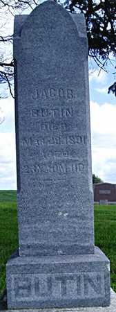 BUTIN, JACOB - Jasper County, Iowa   JACOB BUTIN