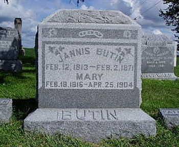 MCAFEE BUTIN, MARY A. - Jasper County, Iowa | MARY A. MCAFEE BUTIN