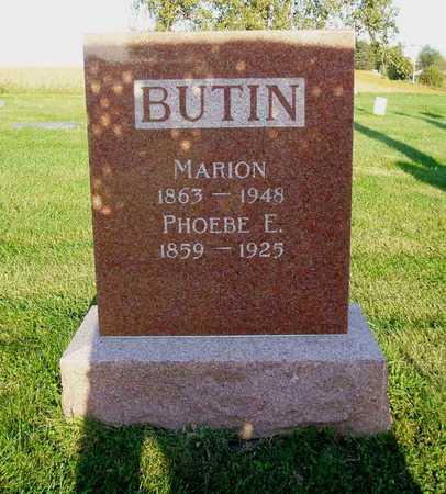 BUTIN, MARION A. - Jasper County, Iowa | MARION A. BUTIN