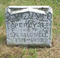 CALDWELL, PERCY R. - Jasper County, Iowa | PERCY R. CALDWELL