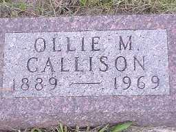 CALLISON, OLIVE