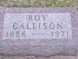CALLISON, ROY - Jasper County, Iowa | ROY CALLISON