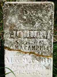 CAMPBELL, JOHN - Jasper County, Iowa | JOHN CAMPBELL