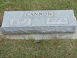 CANNON, ESTHER - Jasper County, Iowa | ESTHER CANNON