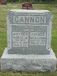 CANNON, GEORGE HENRY - Jasper County, Iowa | GEORGE HENRY CANNON