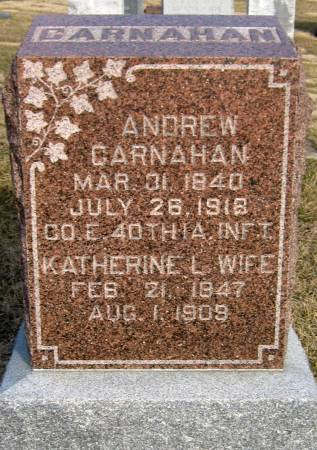CARNAHAN, ANDREW - Jasper County, Iowa | ANDREW CARNAHAN