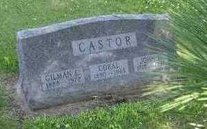 CASTOR, CORAL - Jasper County, Iowa | CORAL CASTOR