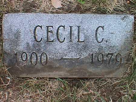 CATING, CORA CECIL - Jasper County, Iowa | CORA CECIL CATING