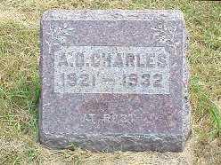 CHARLES, FRANCIS D. - Jasper County, Iowa | FRANCIS D. CHARLES