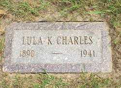 SHRUM CHARLES, LULU K. - Jasper County, Iowa | LULU K. SHRUM CHARLES