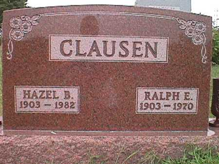 CLAUSEN, HAZEL BELL - Jasper County, Iowa | HAZEL BELL CLAUSEN