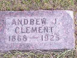 CLEMENT, ANDREW - Jasper County, Iowa | ANDREW CLEMENT