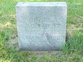 CLEMENT, CHARLES - Jasper County, Iowa | CHARLES CLEMENT