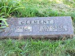 KLINE CLEMENT, CAROLINE - Jasper County, Iowa | CAROLINE KLINE CLEMENT