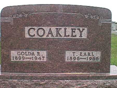 ROHRDANZ COAKLEY, GOLDA ROMAINE - Jasper County, Iowa | GOLDA ROMAINE ROHRDANZ COAKLEY