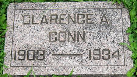CONN, CLARENCE A. - Jasper County, Iowa   CLARENCE A. CONN