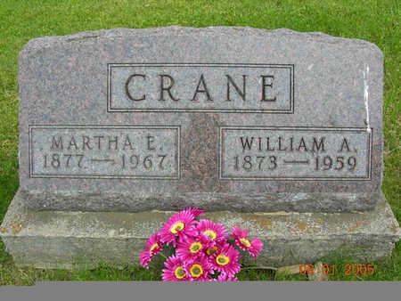 CRANE, MARTHA - Jasper County, Iowa | MARTHA CRANE