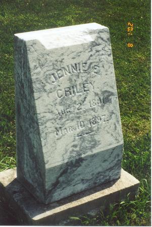 ESSIG CRILEY, JENNIE - Jasper County, Iowa | JENNIE ESSIG CRILEY