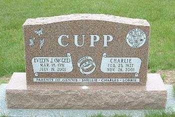 CUPP, CHARLIE - Jasper County, Iowa | CHARLIE CUPP