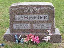 DAMMEIER, HILMA - Jasper County, Iowa | HILMA DAMMEIER