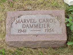 DAMMEIER, MARVEL CAROL - Jasper County, Iowa | MARVEL CAROL DAMMEIER