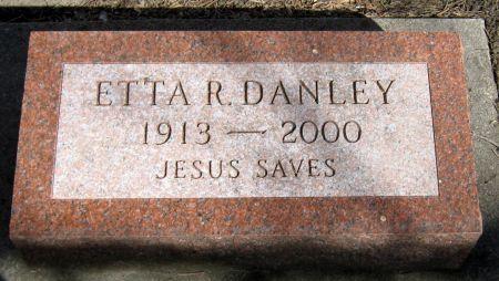 DANLEY, ETTA R. - Jasper County, Iowa | ETTA R. DANLEY