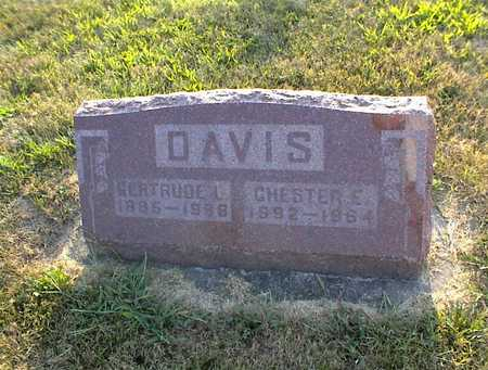WALLACE DAVIS, GERTRUDE - Jasper County, Iowa | GERTRUDE WALLACE DAVIS
