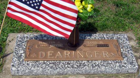 DEARINGER, LOIS M. - Jasper County, Iowa   LOIS M. DEARINGER