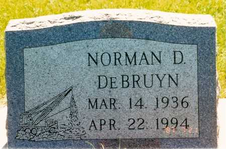 DEBRUYN, NORMAN D. - Jasper County, Iowa | NORMAN D. DEBRUYN