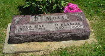 DEMOSS, LOLA MAE - Jasper County, Iowa | LOLA MAE DEMOSS