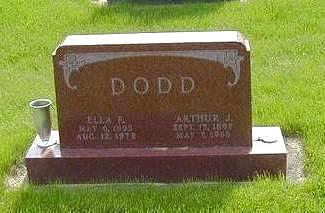 DODD, ARTHUR - Jasper County, Iowa | ARTHUR DODD