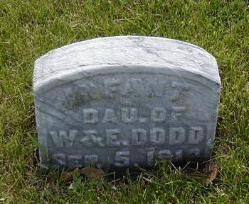DODD, INFANT - Jasper County, Iowa | INFANT DODD