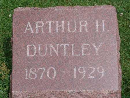 DUNTLEY, ARTHUR - Jasper County, Iowa | ARTHUR DUNTLEY