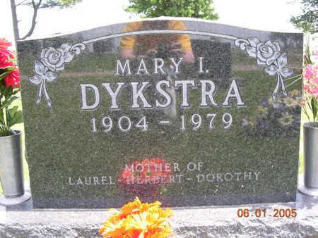 DYKSTRA, MARY IRENE - Jasper County, Iowa | MARY IRENE DYKSTRA