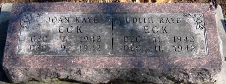ECK, JUDITH RAYE - Jasper County, Iowa | JUDITH RAYE ECK